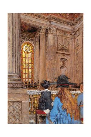 The Chapel Giclee Print by Edouard Vuillard