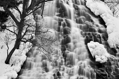 Oshinkoshin Falls II Photographic Print by Larry Malvin