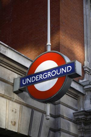 London Underground Photographic Print by Karyn Millet
