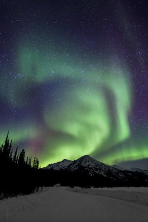 Aurora Borealis XIII Photographic Print by Larry Malvin