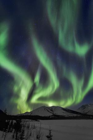 Aurora Borealis XIV Photographic Print by Larry Malvin