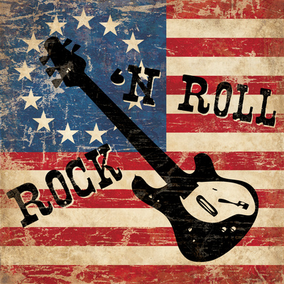 Rock N Roll Posters by N. Harbick