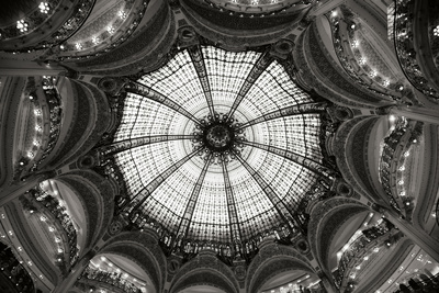 Galeries Lafayette IV BW Photographic Print by Erin Berzel