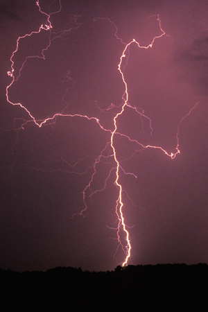 Lightning Photographic Print by Wolfgang Simlinger