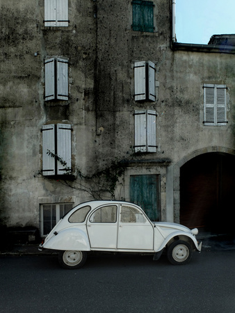 2CV France Photographic Print by Gary Waters