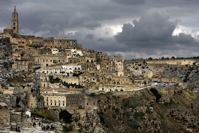 Matera Photographic Print by Angelo Facchini