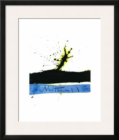 Beside the Sea No. 1, c.1962 Poster by Robert Motherwell