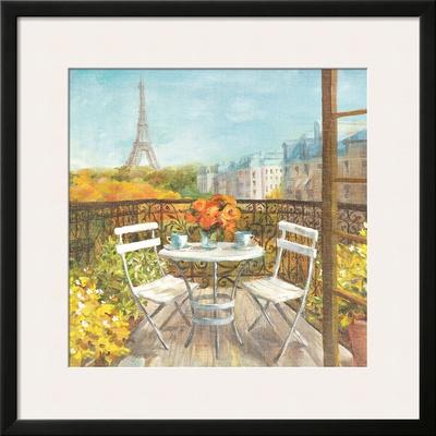 September in Paris Crop Print by Danhui Nai