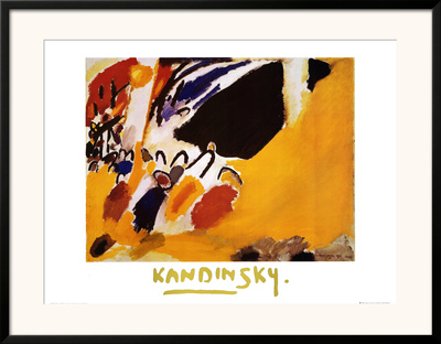Impression III, Concert Posters by Wassily Kandinsky