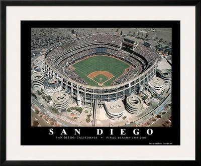 San Diego Padres Qualcom Stadium Final Season, c.1969-2003 Sports Prints by Mike Smith