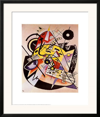 White Dot Prints by Wassily Kandinsky