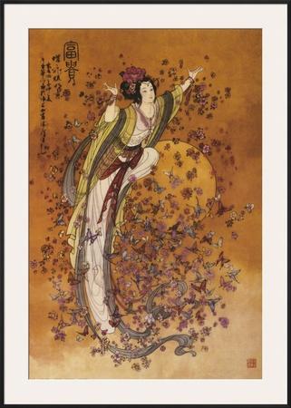 Goddess of Wealth Poster