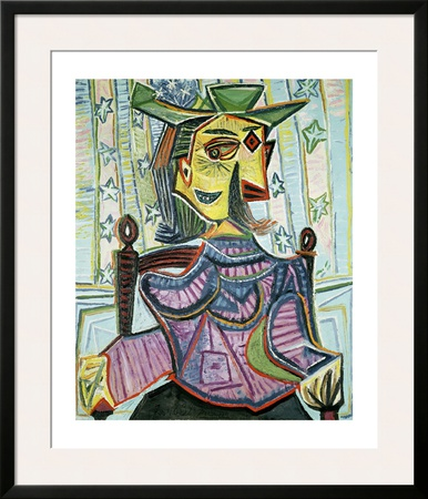 Seated Portrait of Dora Maar Prints by Pablo Picasso