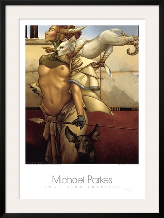 Stalking Posters by Michael Parkes