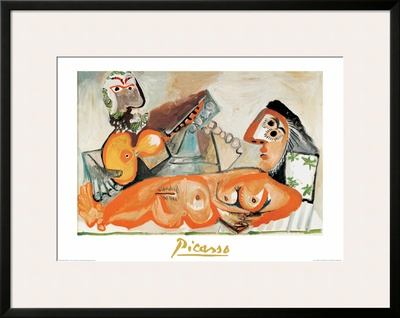 Laying Nude and Musician Prints by Pablo Picasso