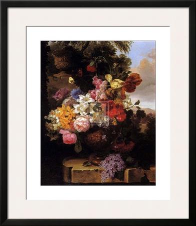 Stately Garden II Print by John Wainwright