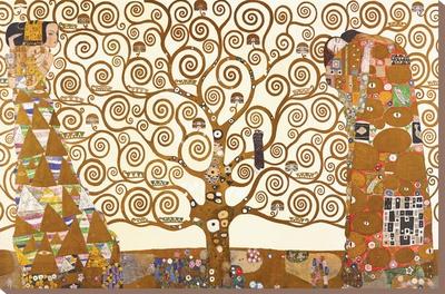 Levensboom Kunst op gespannen canvas
