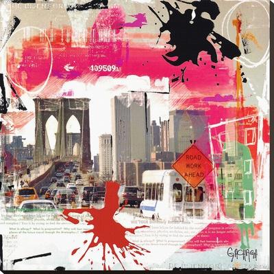 You tache Bedruckte aufgespannte Leinwand von Vincent Gachaga