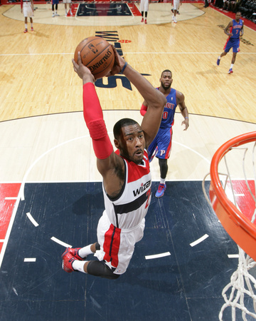 Jan 18, 2014, Detroit Pistons vs Washington Wizards - John Wall Photo by Ned Dishman