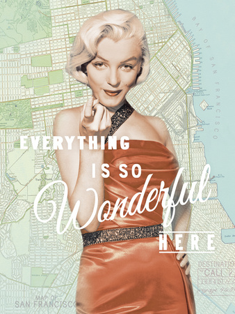 Wonderful Marilyn Posters by  The Chelsea Collection