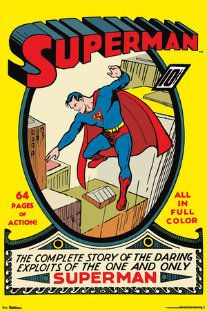 Superman 1 - Cover Posters