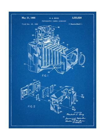 Photographic Camera Accessory Patent Prints
