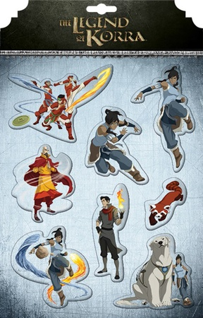 Avatar: Legend of Korra Magnet Set Imán