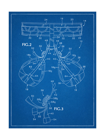 Climbing Harness Patent Posters