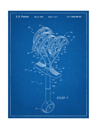 Climbing Cam, Omega Pacific Link Cam Patent Prints