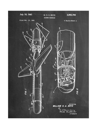 Guided Missile Patent Art