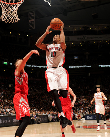 Apr 2, 2014, Houston Rockets vs Toronto Raptors - DeMar DeRozan Photo by Ron Turenne