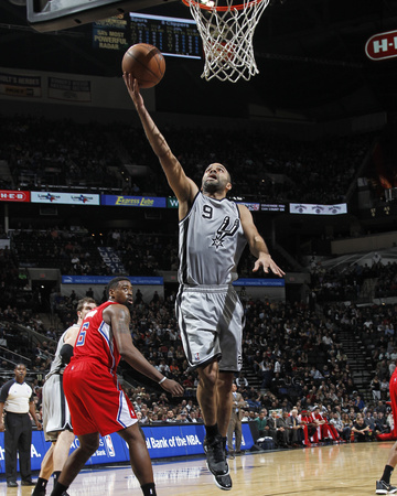 Jan 4, 2014, Los Angeles Clippers vs San Antonio Spurs - Tony Parker Photo by Chris Covatta