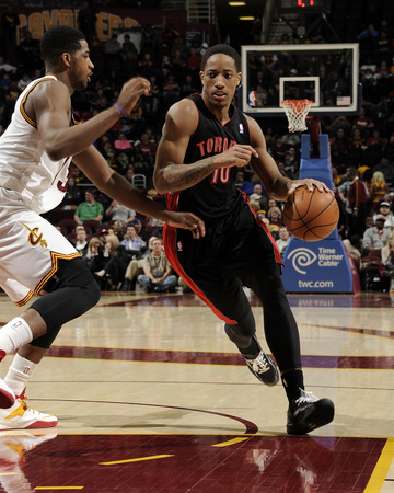 Mar 25, 2014, Toronto Raptors vs Cleveland Cavaliers - DeMar DeRozan Photo by David Liam Kyle