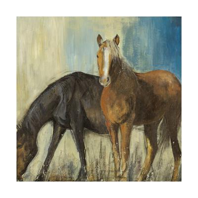 Horses II Print by Andrew Michaels