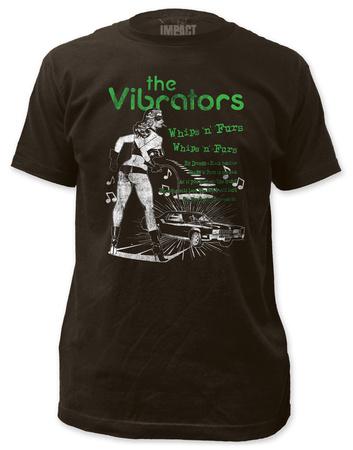 The Vibrators - Whips 'n' Furs (slim fit) T-Shirt