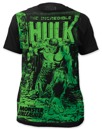 The Incredible Hulk - Monster Unleashed (slim fit) T-shirts