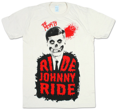 Misfits - Ride Johnny Ride (slim fit) Shirt