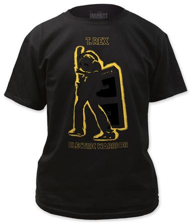 T. Rex - Electric Warrior Metallic Gold T-Shirt