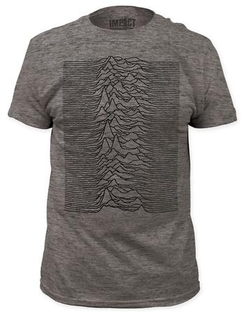 Joy Division - Unknown Pleasures Heather (slim fit) T-Shirts