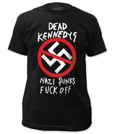 Dead Kennedys - Nazi Punks F Off (slim fit) T-shirts