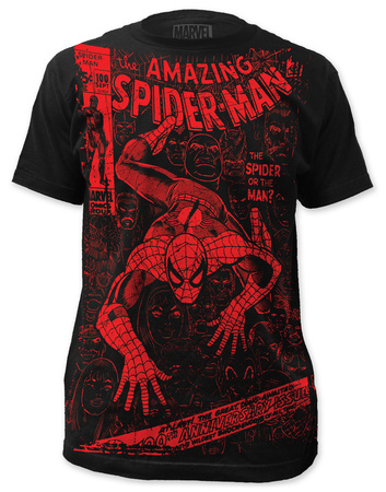 Spiderman - Spider or the Man (slim fit) T-Shirt