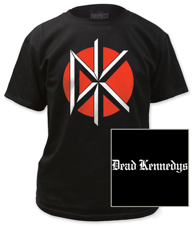 Dead Kennedys - Logo with Black Print T-shirts