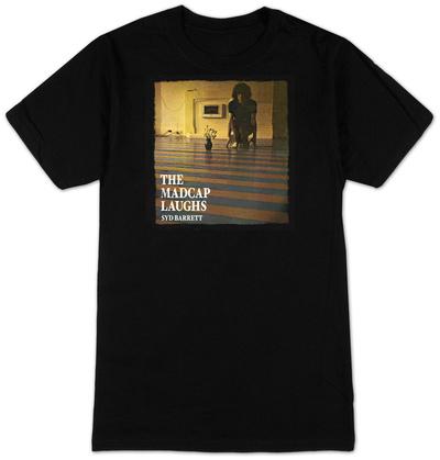 Syd Barrett - Madcap Laughs (Black) T-shirts