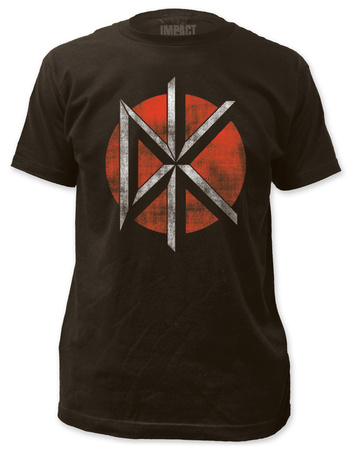 Dead Kennedys - Distressed Logo (slim fit) T-shirts