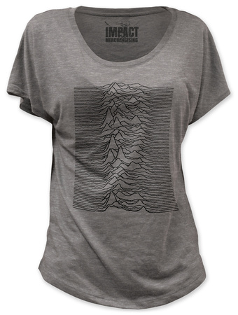 Juniors: Joy Division - Unknown Pleasures (dolman) Tshirt