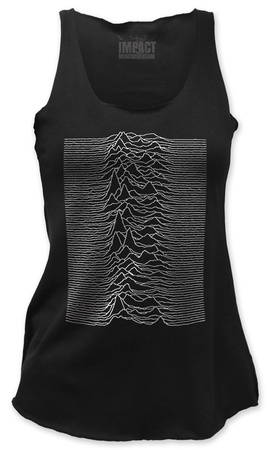 Juniors Tank Top: Joy Division - Unknown Pleasures Womens Tank Tops