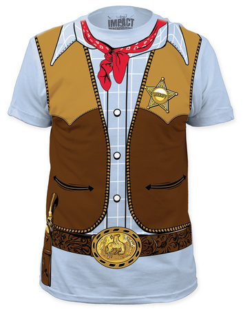 Cowboy Costume Tee (slim fit) Bluser