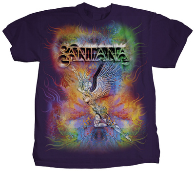 Santana - Cosmic Angel Shirts