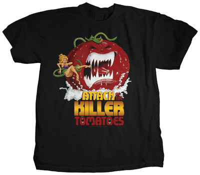 Attack of the killer tomatoes movie poster bluser p for Attack of the 50 foot woman t shirt