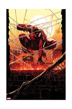 Scarlet Spider 12.1 Cover Art of Scarlet Spider